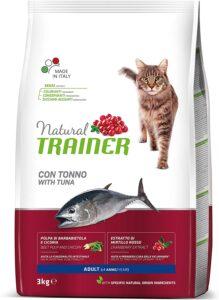 Crocchette per gatti Natural Trainer