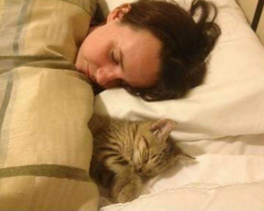 quando dorme con noi