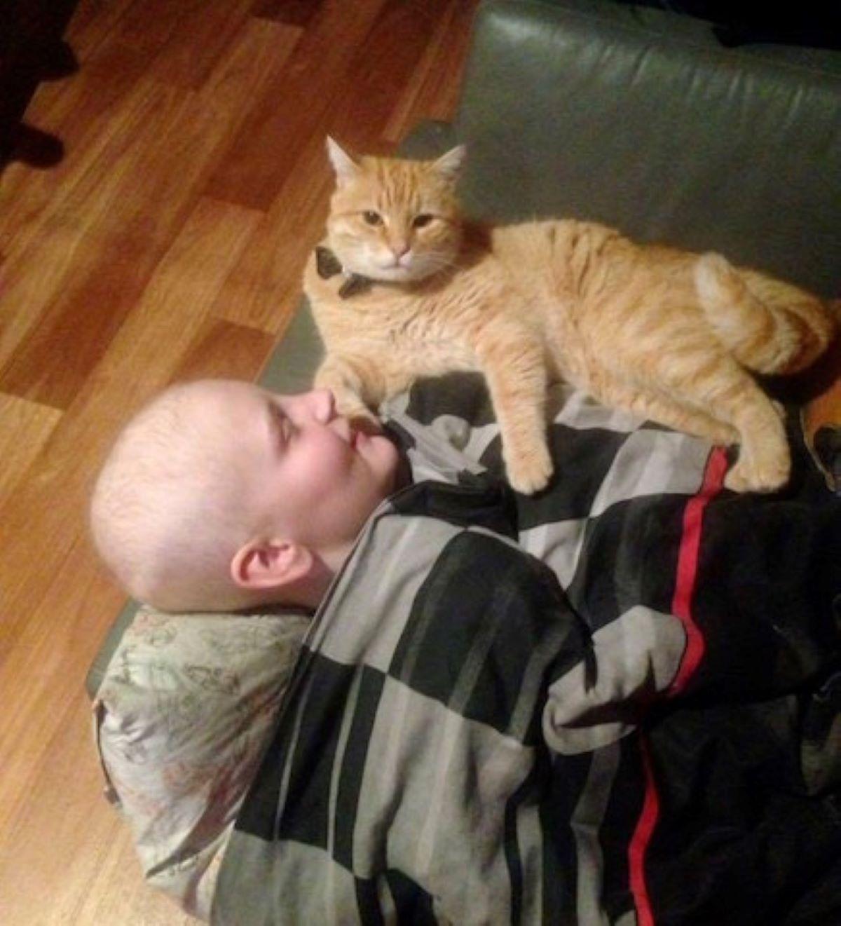 il-gatto-assiste-il-suo-amico-malato