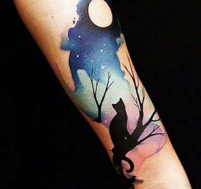 tatuaggio-gatto-nero