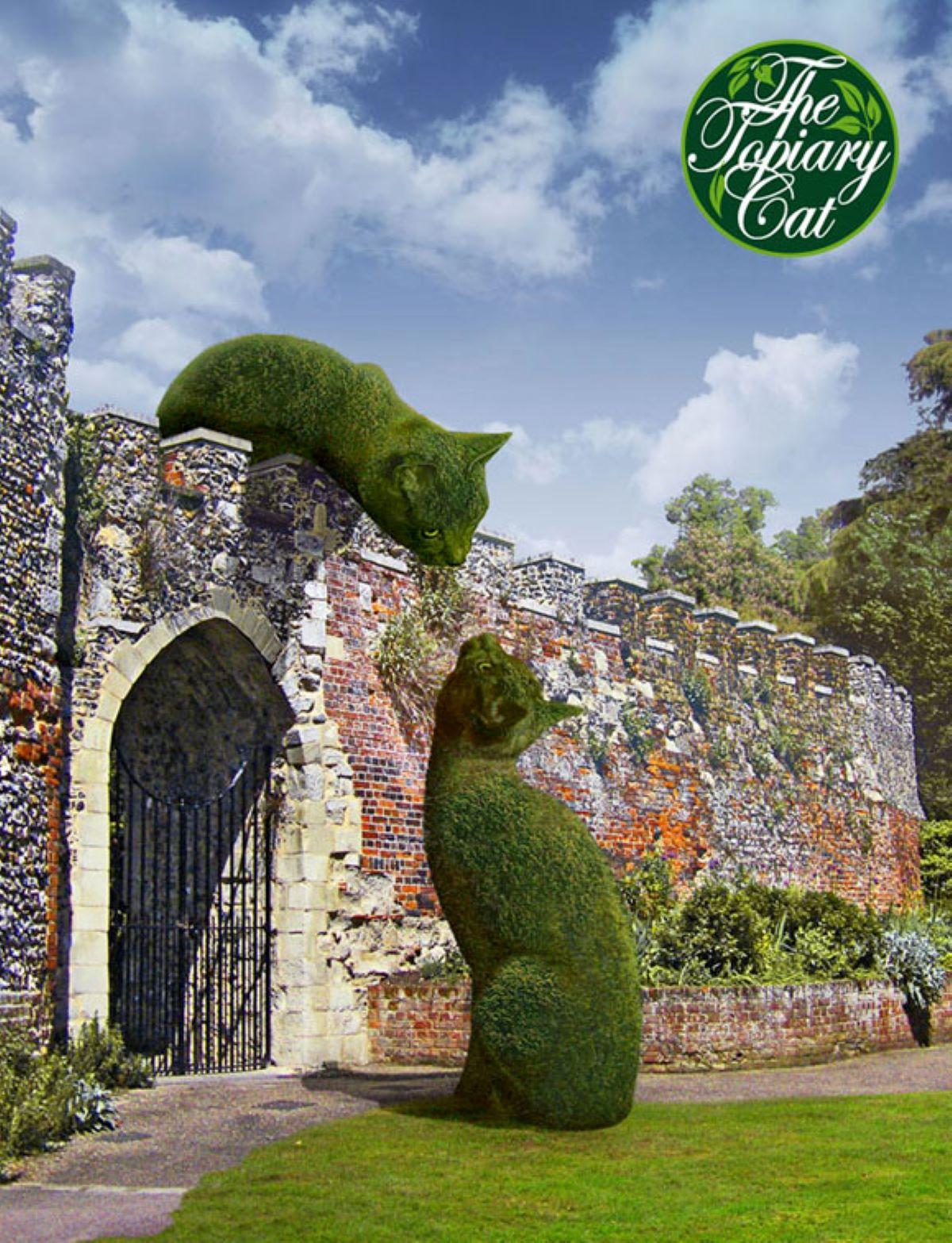 dipinto-gatto-con-castello