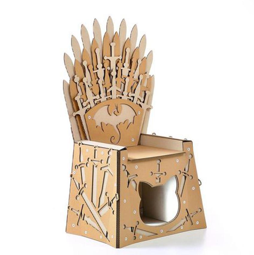 La scatola casa per gatti a tema Il trono di spade