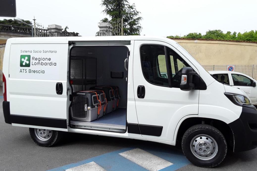 ambulanza veterinaria interno