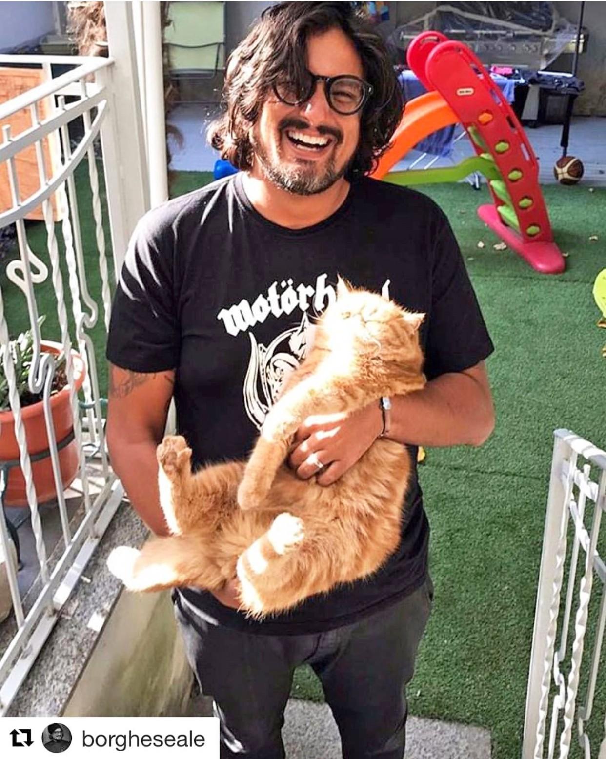 lo chef e il suo gatto