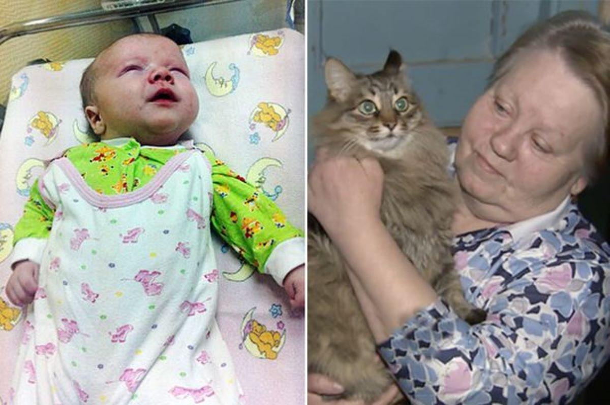gatto-donna-e-bambino