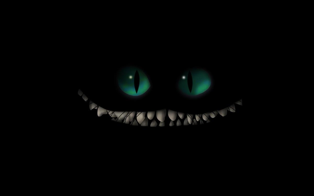 sorriso dello stregatto