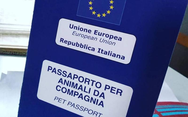 passaporto per animali da compagnia