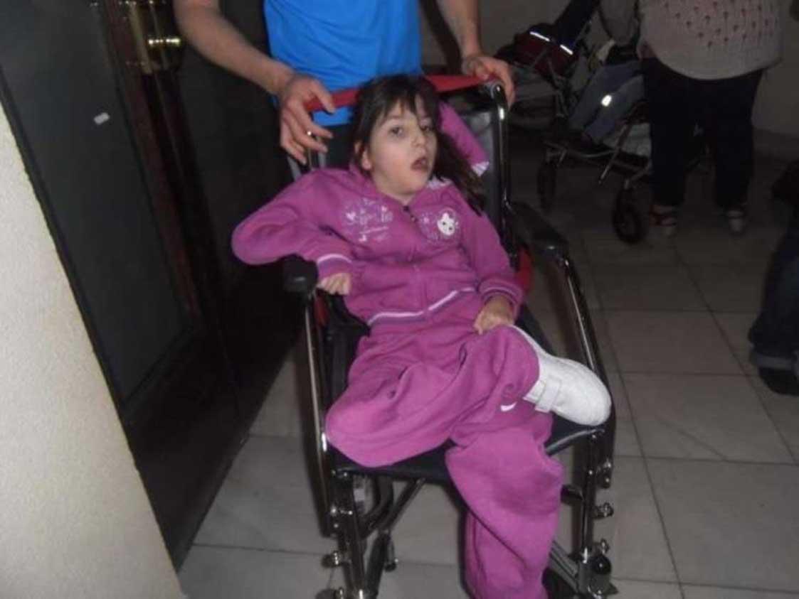 Ragazza disabile