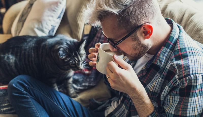 Gatto e caffè