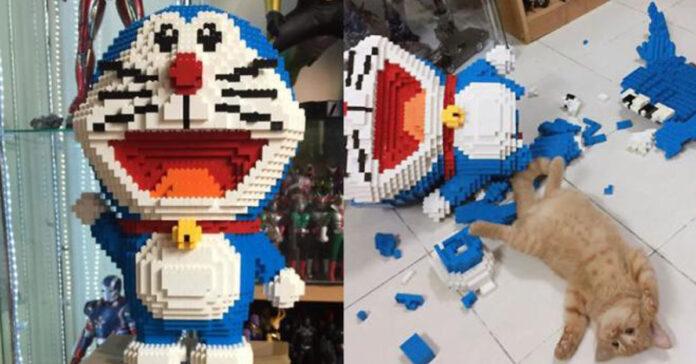 Gatto Doraemon
