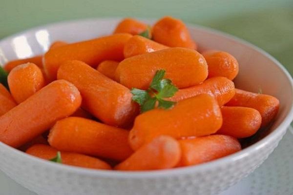 piatto di carote per gatti