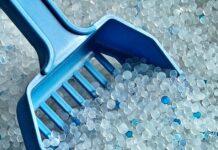 lettiera per gatti ai cristalli di silicio