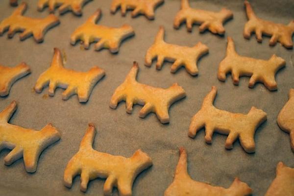 snack a forma di gatto