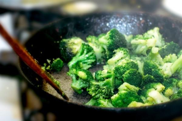 broccoli cotti in padella