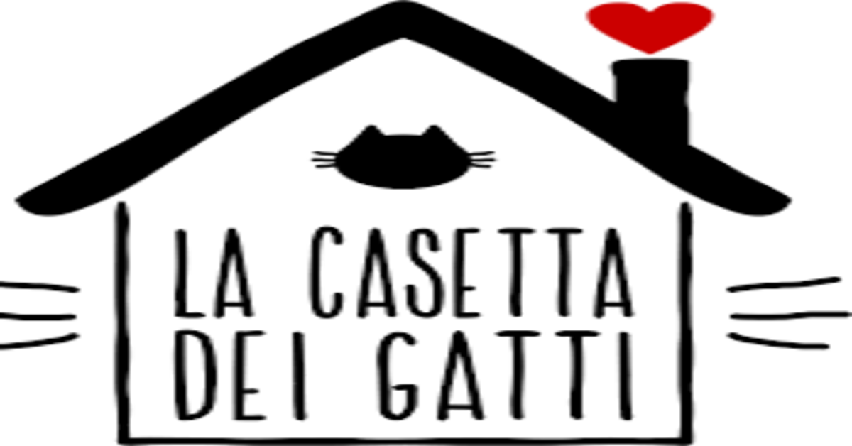La casetta dei gatti Roma logo