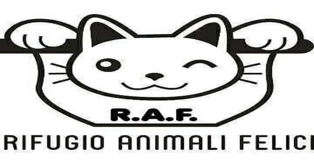 Raf rifugio Animali felici logo