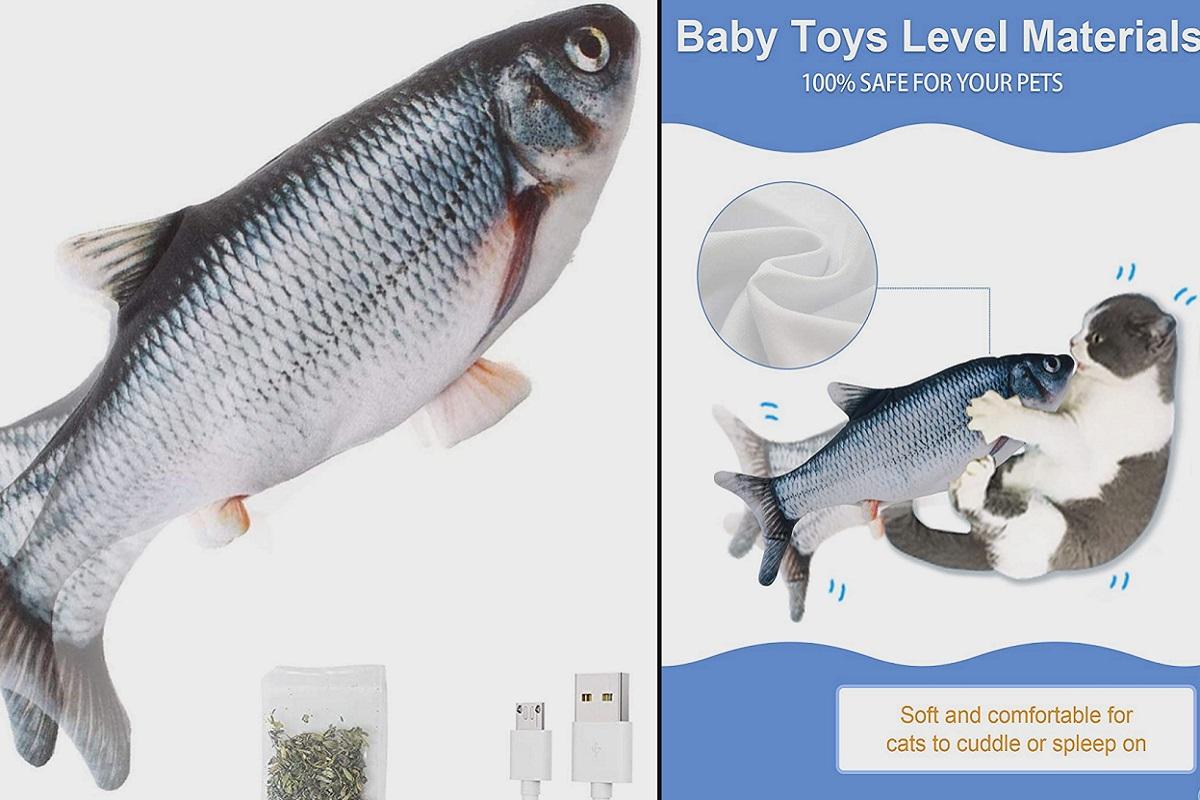 pesce elettronico per gatti