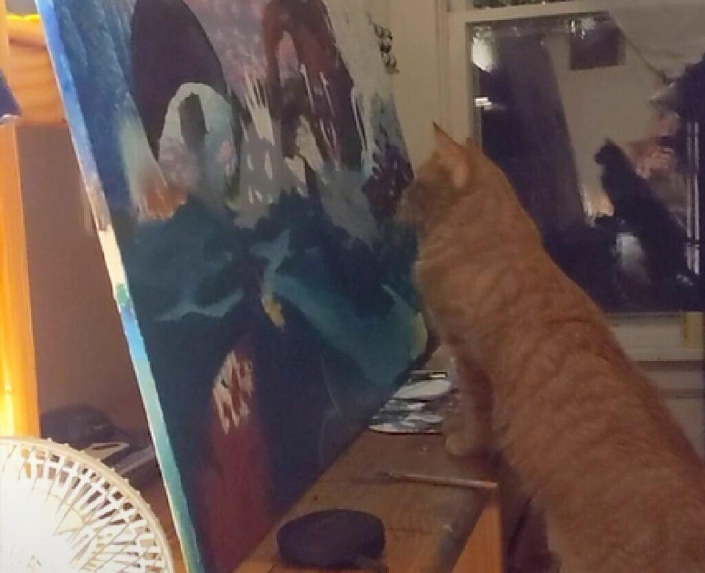 mozzy gattino critico arte professionista