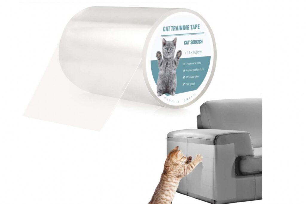 rotolo per proteggere i mobili dal gatto