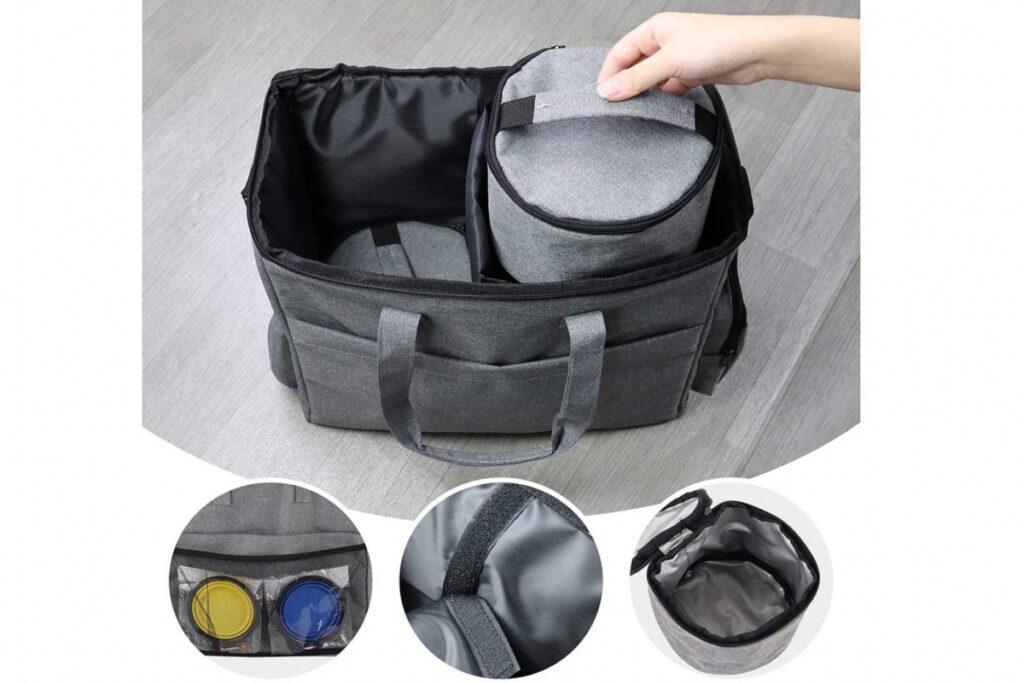 set di accessori da viaggio per gatti
