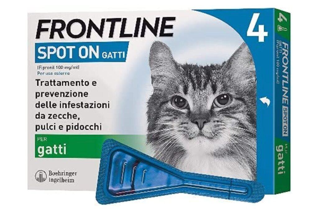 antiparassitario per il gatto
