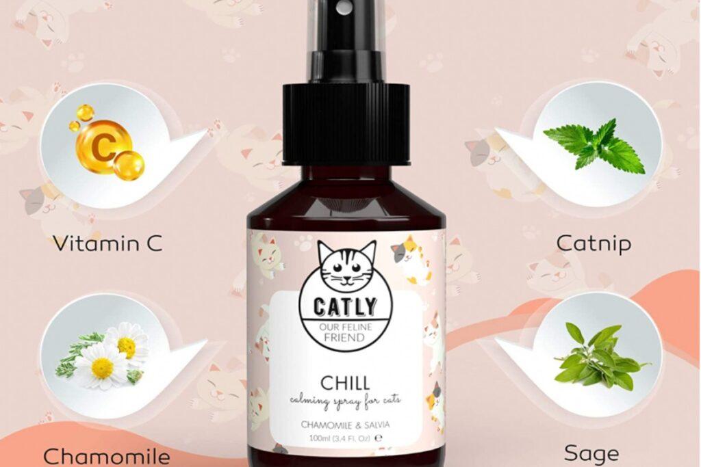 spray rilassante per gatti