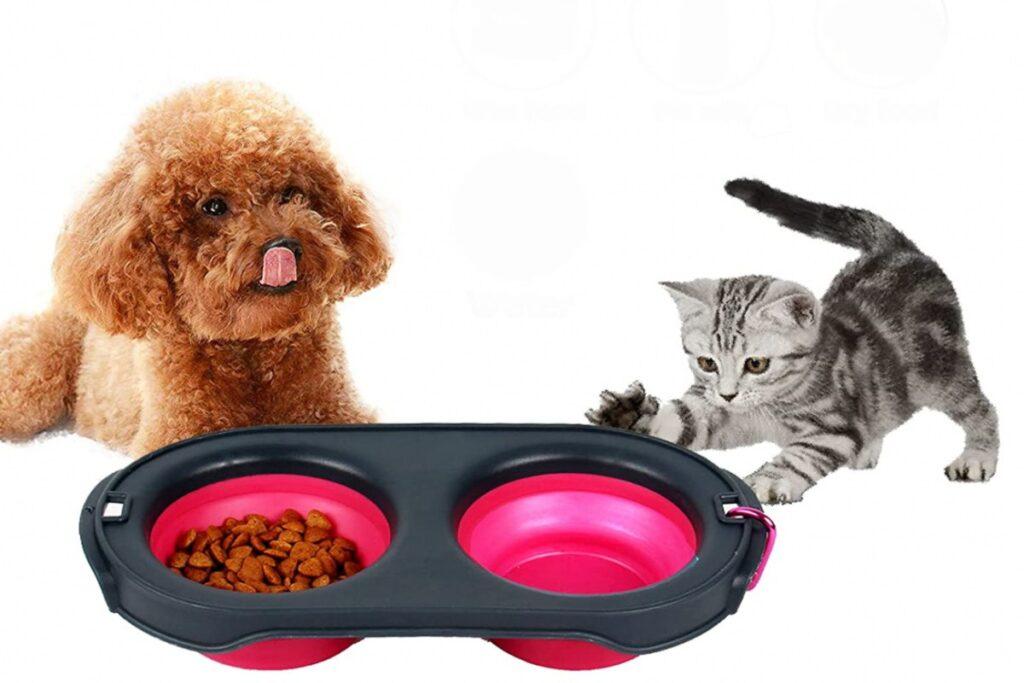 ciotole da viaggio per cani e gatti