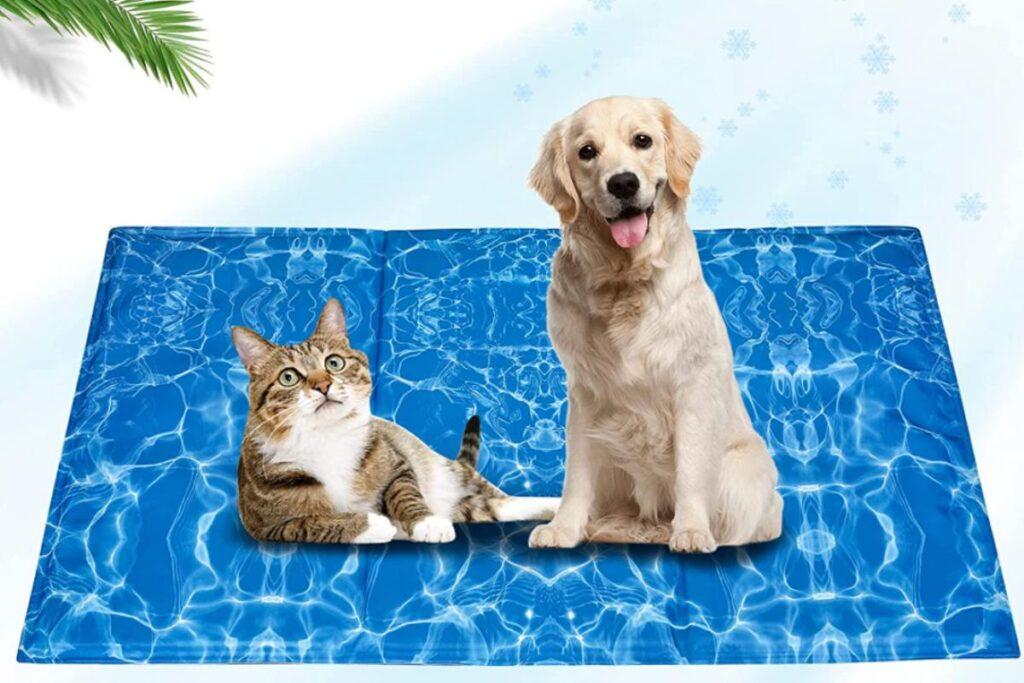 tappetino refrigerante per gatti e cani
