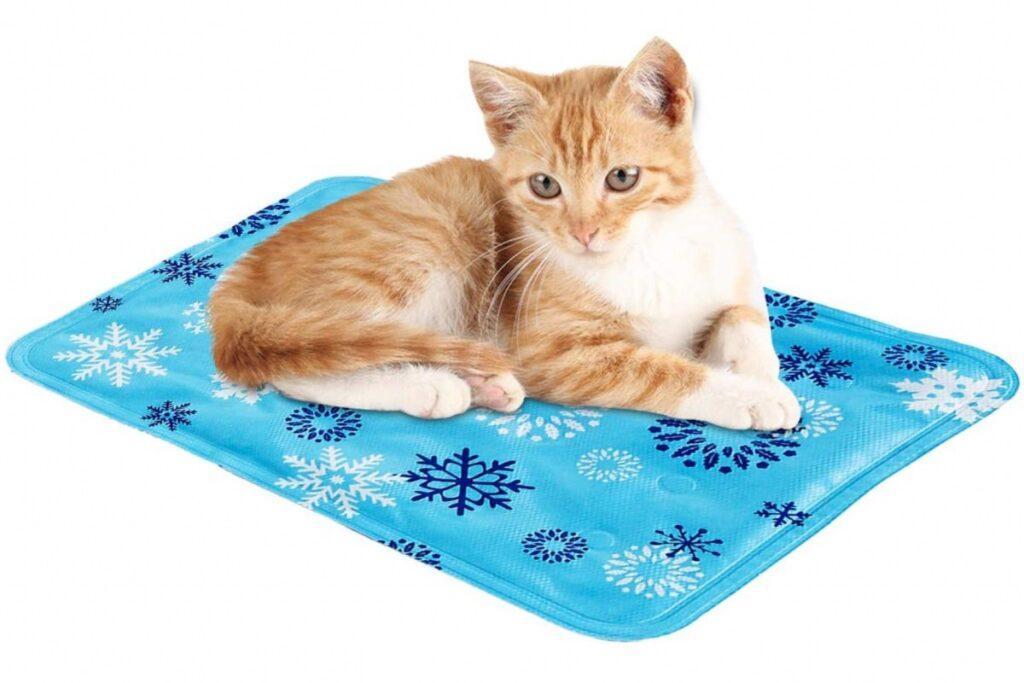 tappetino refrigerante per gatti