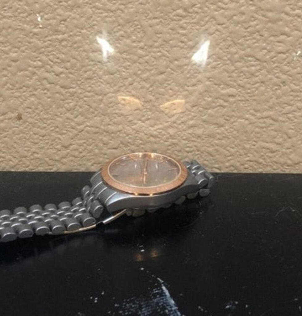orologio disegno felino