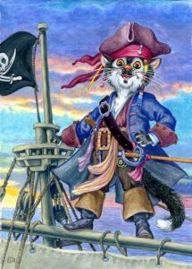 gatto sulla nave
