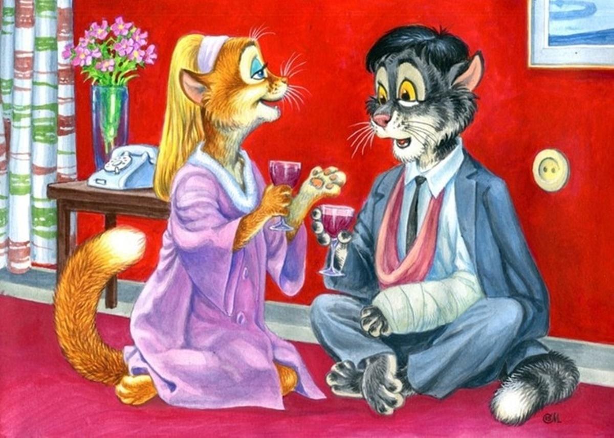 gatti seduti