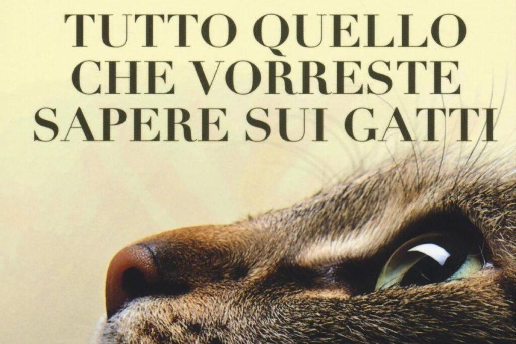 copertina libro su gatti