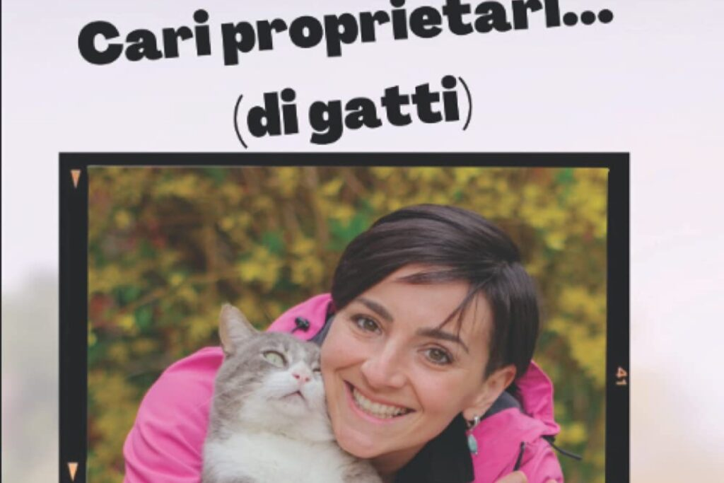 libro sui gatti scritto da veterinaria