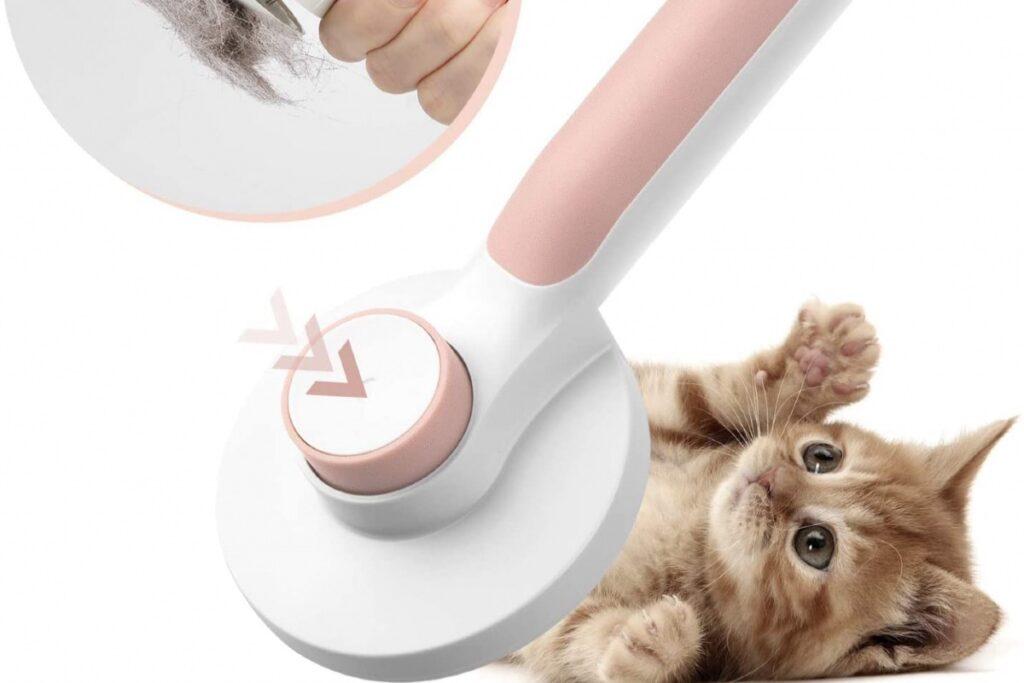 massaggiatore per gatti