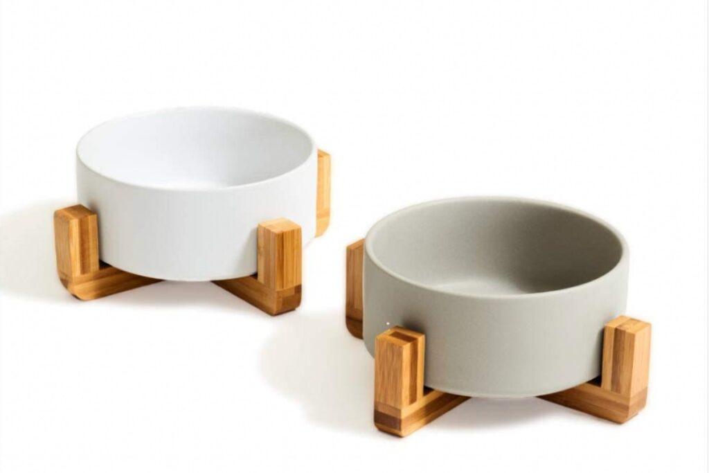 ciotole per gatti di ceramica