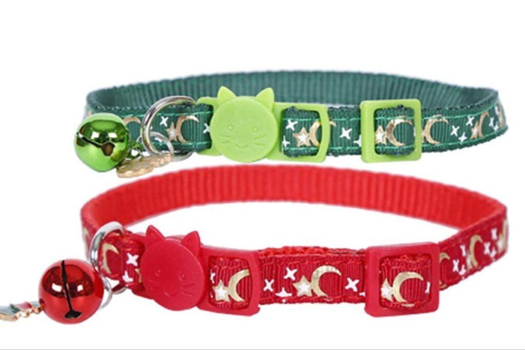 collari colorati per gatto