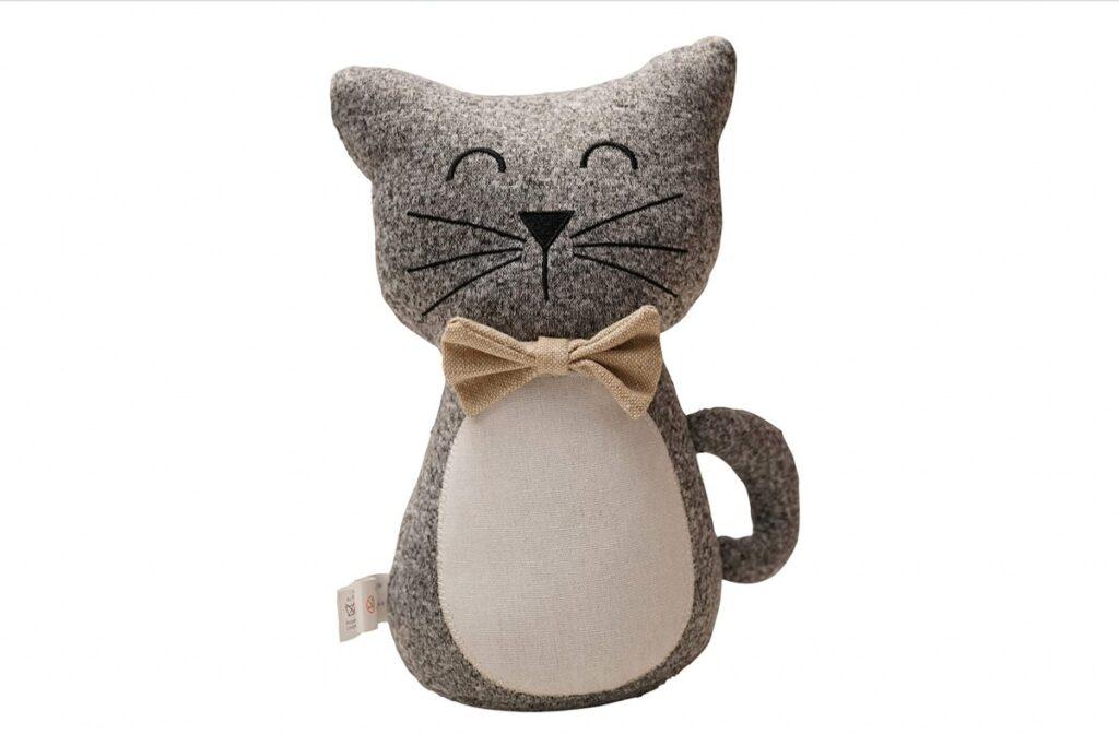 fermoposta a forma di gatto