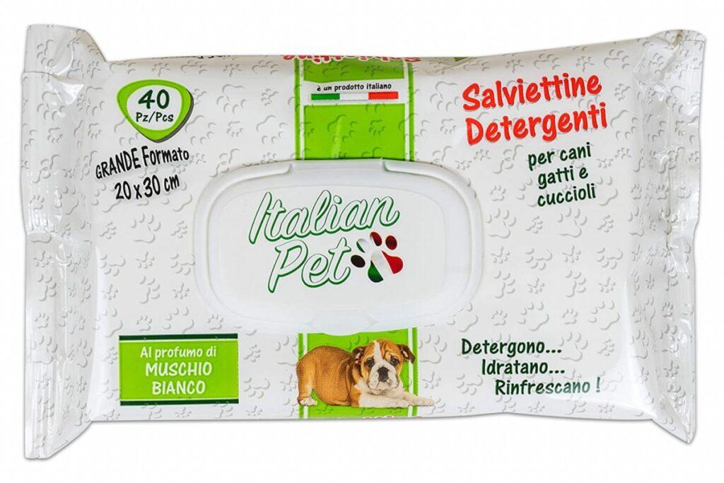 salviette detergenti per gatti