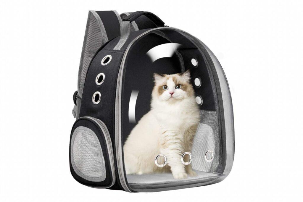 zaino trasportino per gatti