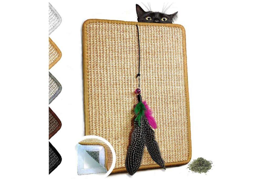 tappeto giocattolo per gatti