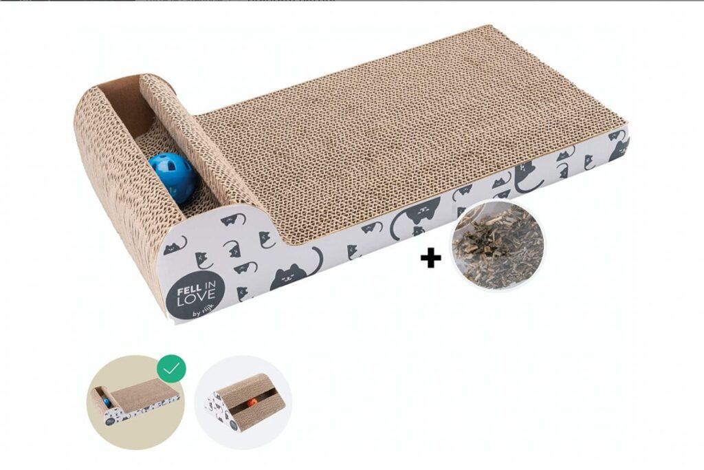 tappeto tiragraffi di cartone