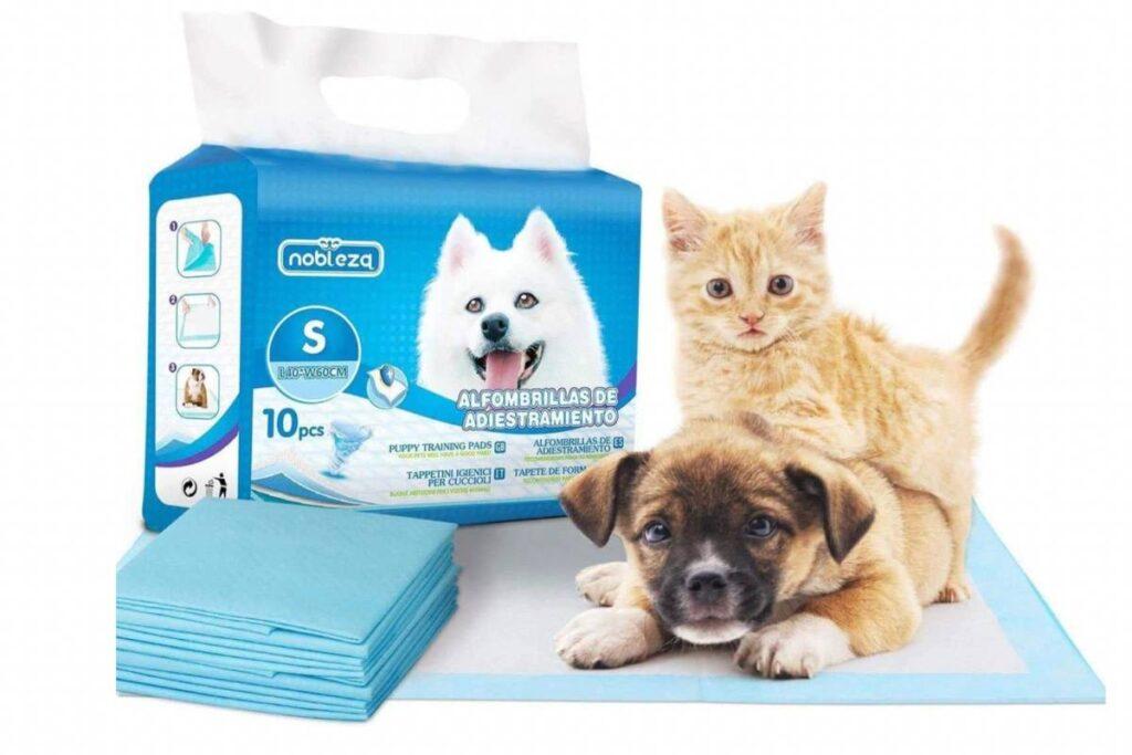tappetini igienici per gattini