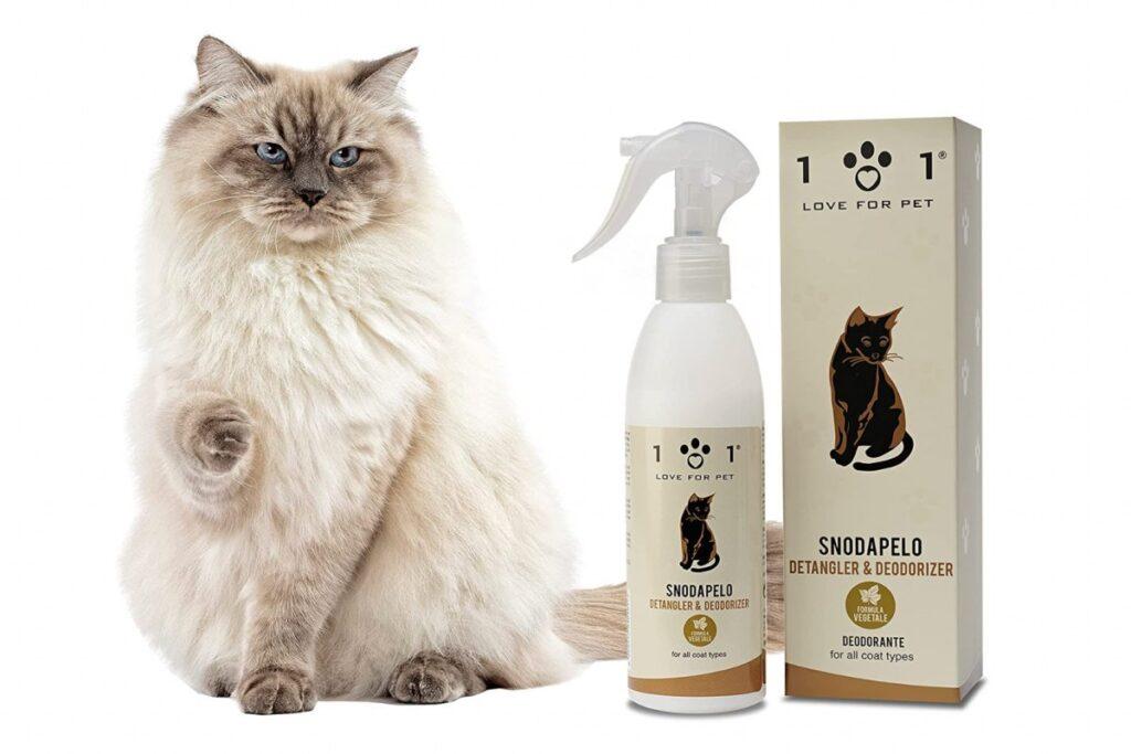 prodotti per gatti a pelo lungo