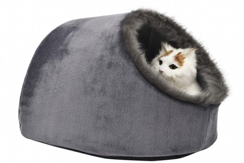 cuccia igloo per gatto