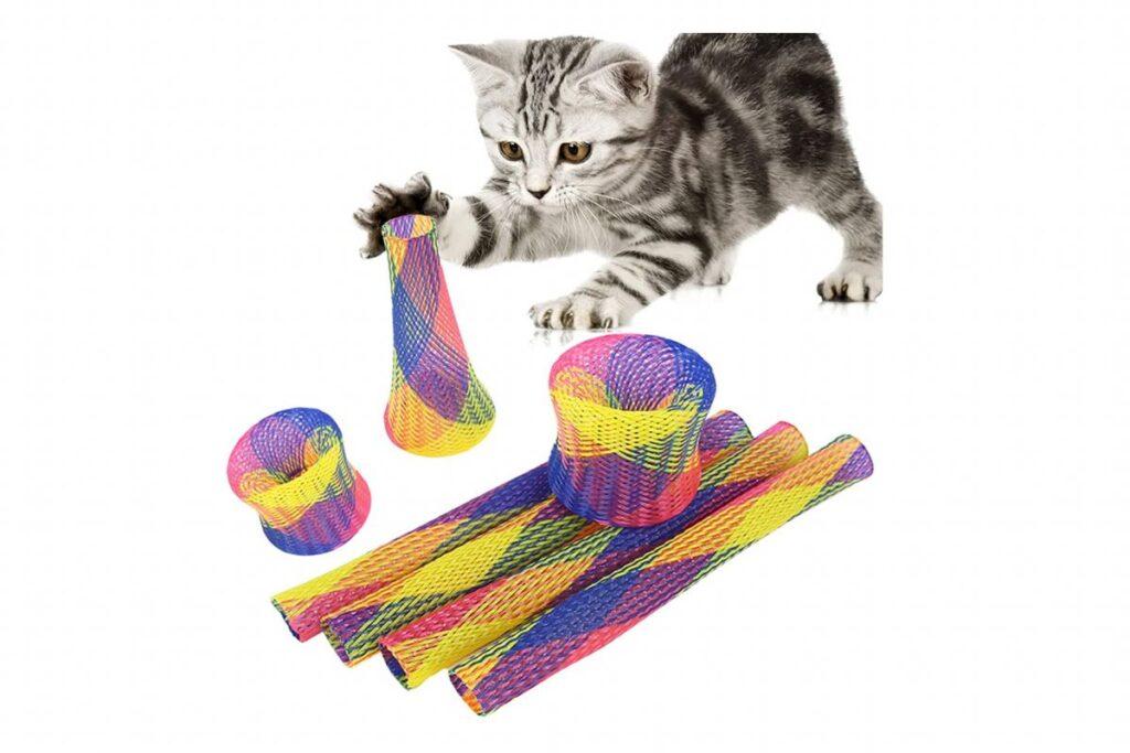 molle giocattolo per gatto
