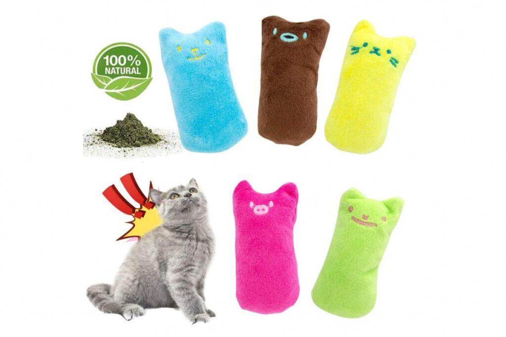 giocattoli con erba gatta