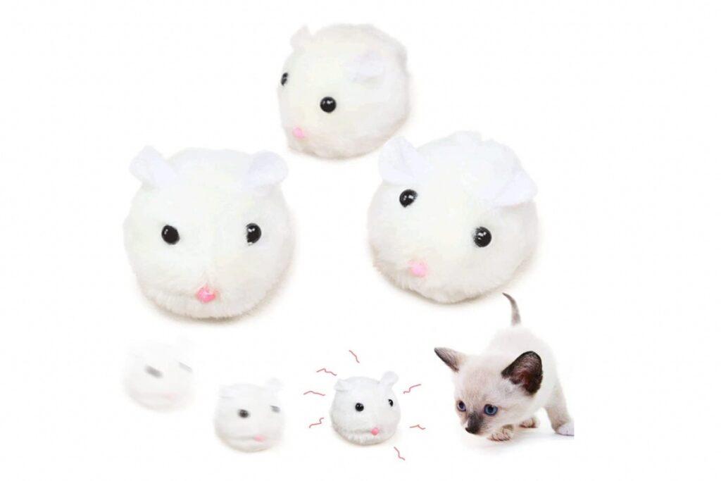 topolini giocattolo per gatti
