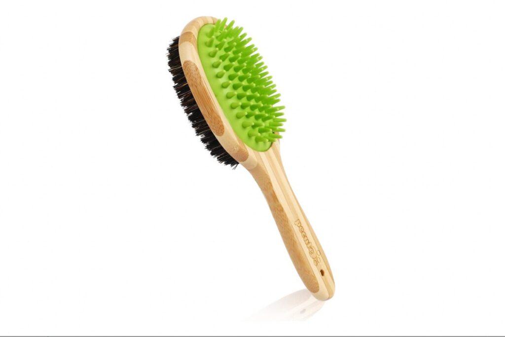 spazzola con setole naturali